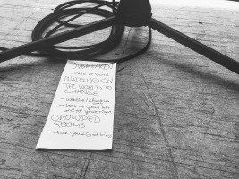 Little did we know when we put this set list together that it would be heard by everyone tuning into KORN 100.3 that morning--that was a fun surprise!